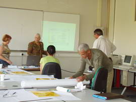 Paris, AFPA Creteuil, training of tutors in the Telestia programmes.